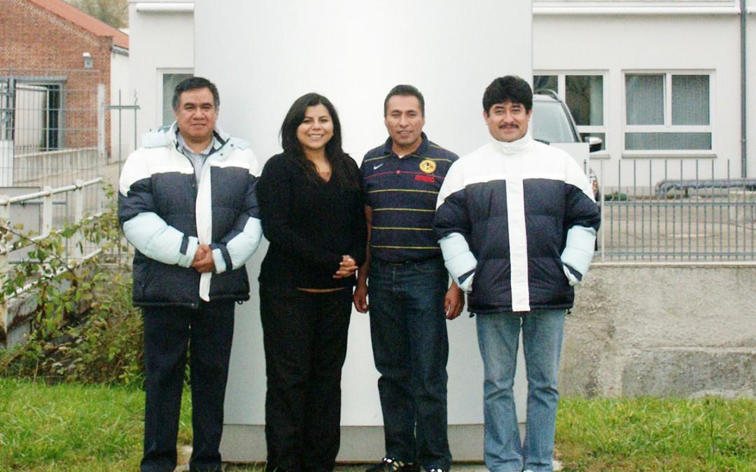 Einweihungsfeier und Produktionsstart bei UTT de México.