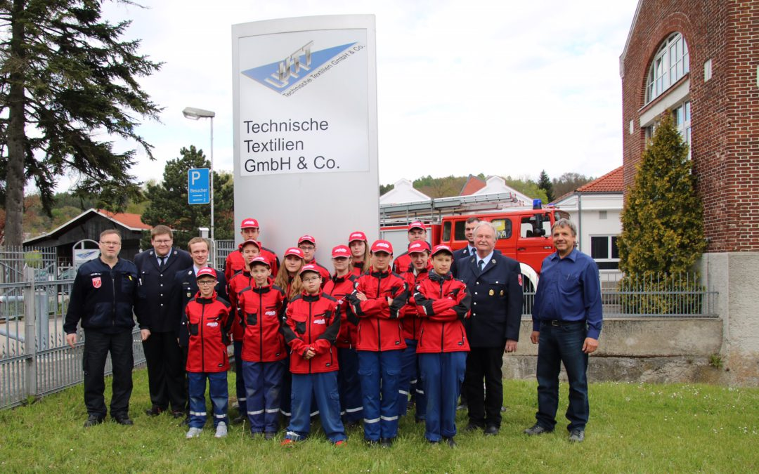 Sponsorship for Krumbach's Young Firefighters